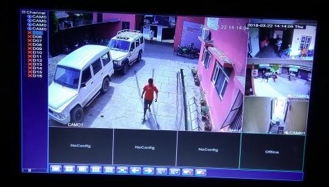 Display CCTV